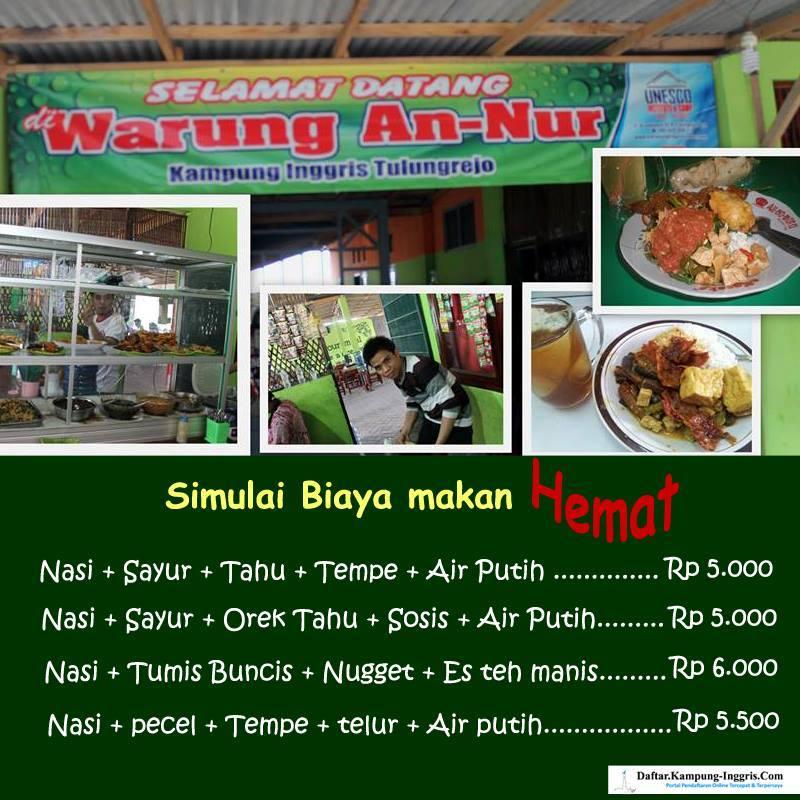 Biaya Makan Di pare 2014