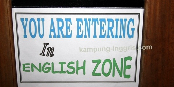 Welcome To Camp English Area