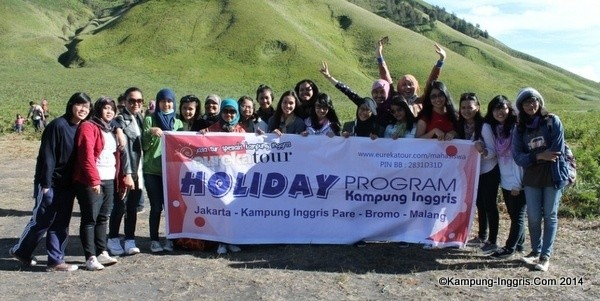 Dokumentasi Holiday Program Saat Wisata di Bromo