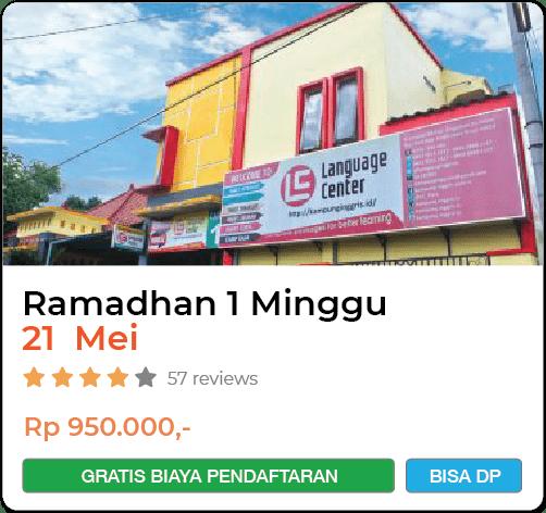Ramadhan LC 1 Minggu 21 Mei