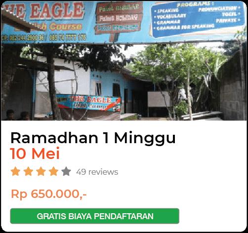 THE EAGLE_RAMADHAN 1 MINGGU_10 MEI
