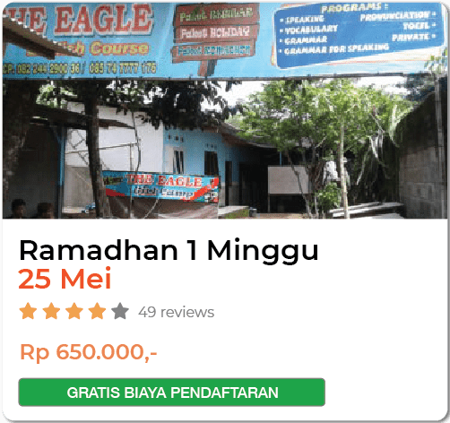 THE EAGLE RAMADHAN 1 MINGGU 25 MEI